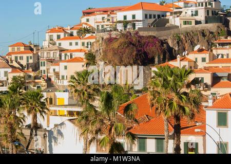 Hillside houses at Camara de Lobos, Funchal, Madeira, Portugal - John Gollop
