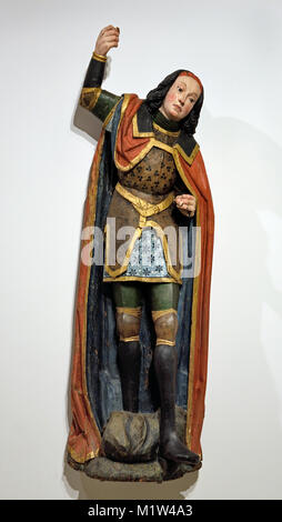 St George, 1475-1500, Germany , German Rhineland Workshop - Stock Photo
