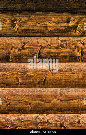 Part of the construction of the cylindrical timber close-up. - Stock Photo