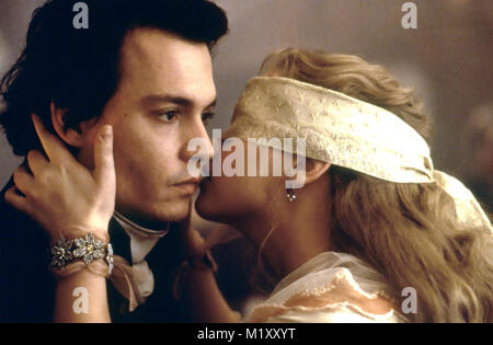 SLEEPY HOLLOW 1999 Paramount Pictures film with Christina Ricci and Johnny Depp - Stock Photo