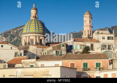 St. John Cathedral in Vietri sul Mare - Stock Photo