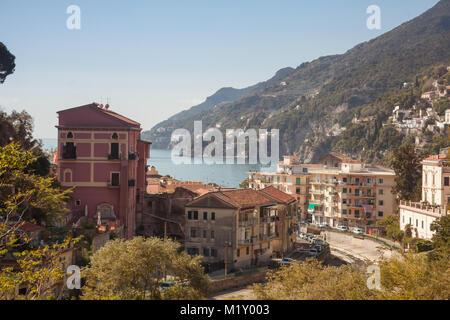 Skyline of Vietri Sul Mare - Stock Photo