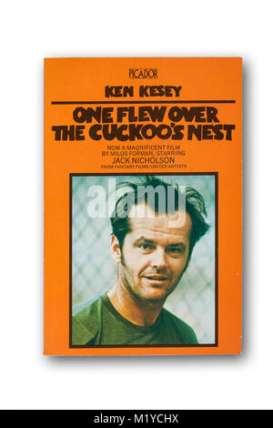 'One Flew Over the Cuckoo's Nest' novel by Ken Kesey - Stock Photo