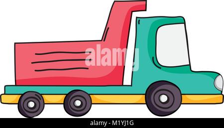 dump truck industry and contruccion vehicle - Stock Photo