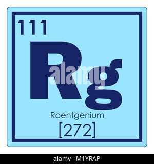 Roentgenium chemical element periodic table science symbol stock roentgenium chemical element periodic table science symbol stock photo urtaz