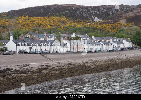 Ullapool on the west coast of Scotland. UK - Stock Photo