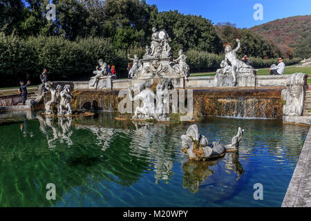 The fountain of Ceres (Caserta Royal Palace) - Stock Photo