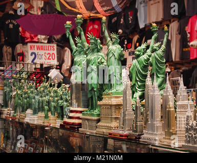 New York , New York, USA. Febuary 1, 2018. Souvenir and gift shop in Times Square in midtown Manhattan - Stock Photo