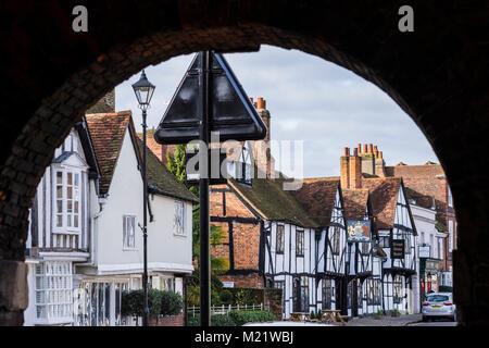 Amersham Old Town, Chiltern Valley, Buckinghamshire, England, U.K. - Stock Photo