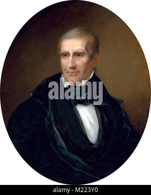William Henry Harrison (1773 – 1841) American, ninth President of the United States - Stock Photo