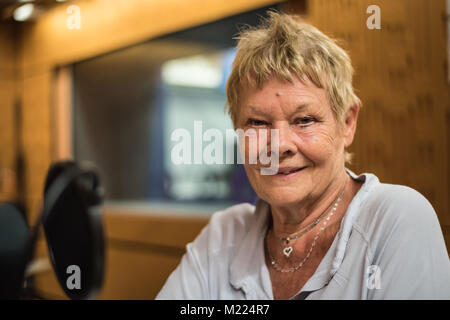 Dame Judi Dench 2015 - Stock Photo