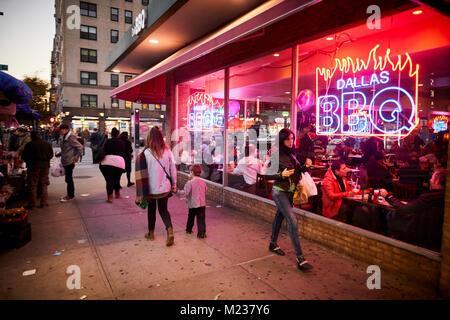 New York city in Manhattan - Stock Photo