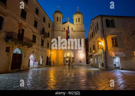 Saint Nicholas Kotor Cathedral,  Montenegro - Stock Photo