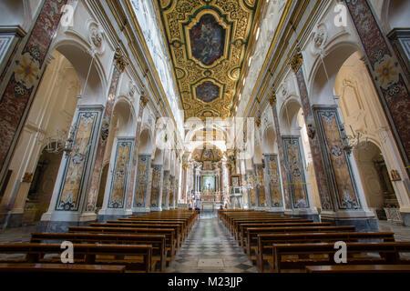 Saint Andrew's Cathedral, Amalfi, Italy - Stock Photo