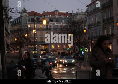 Chiado. Lisbon, Portugal - Stock Photo