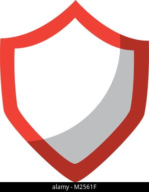 shield blank icon image  - Stock Photo