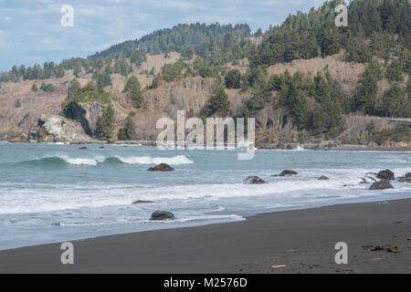 tranquil calming ocean scene - Stock Photo