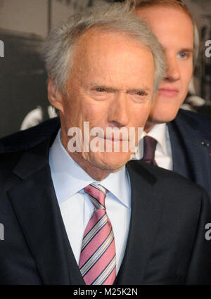 Burbank, California, USA. 5th February, 2018. Director Clint Eastwood attends the World Premiere of 'The 15:17 To - Stock Photo