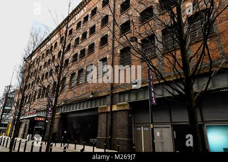 Great Northern Railway Company's Goods Warehouse in Manchester - Stock Photo