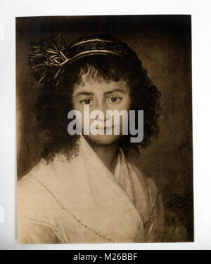 Francisco Goya (1746-1828) was a Spanish painter and printmaker. Considered the most important Spanish artists of - Stock Photo