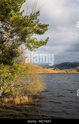 The Pontsticill Reservoir in the Brecon Beacons National Park, south Wales Stock Photo
