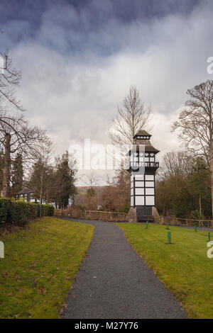 Dovecote, Plas Newydd House, Llangollen, Denbighshire, North Wales, UK - Stock Photo