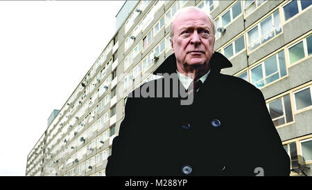 HARRY BROWN  2009 Marv Films production with Michael Caine - Stock Photo