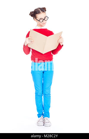 Avid reader - Stock Photo