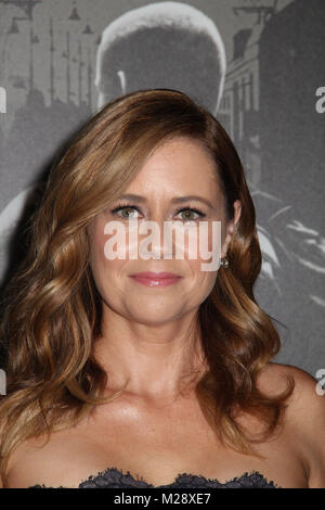 Burbank, California, USA. 5th February, 2018. Jenna Fischer  02/05/2018 The World Premiere of 'The 15:17 to Paris' held at The SJR Theater at Warner Bros. Studios in Burbank, CA Photo by Izumi Hasegawa / HollywoodNewsWire.co