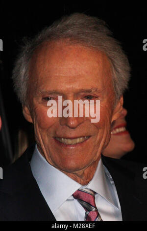 Burbank, California, USA. 5th February, 2018. Clint Eastwood  02/05/2018 The World Premiere of 'The 15:17 to Paris' held at The SJR Theater at Warner Bros. Studios in Burbank, CA Photo by Izumi Hasegawa / HollywoodNewsWire.co