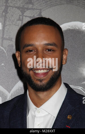 Burbank, California, USA. 5th February, 2018. Anthony Sadler  02/05/2018 The World Premiere of 'The 15:17 to Paris' held at The SJR Theater at Warner Bros. Studios in Burbank, CA   Photo: Cronos/Hollywood News Credit: Cronos/Alamy Live News
