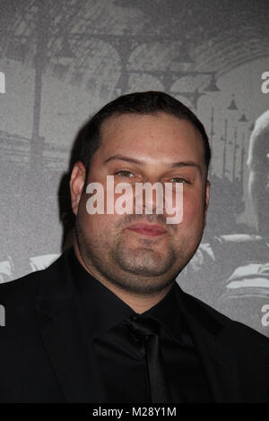 Burbank, California, USA. 5th February, 2018. Max Adler  02/05/2018 The World Premiere of 'The 15:17 to Paris' held at The SJR Theater at Warner Bros. Studios in Burbank, CA   Photo: Cronos/Hollywood News Credit: Cronos/Alamy Live News