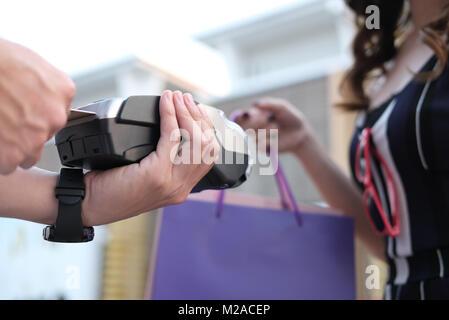 credit card swipe through terminal for sale Stock Photo ...
