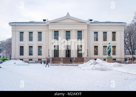 Oslo University, Oslo, Norway - Stock Photo