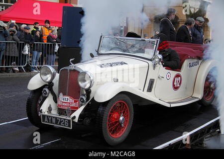 Monte Carlo Rally 2018 Banbury - Stock Photo