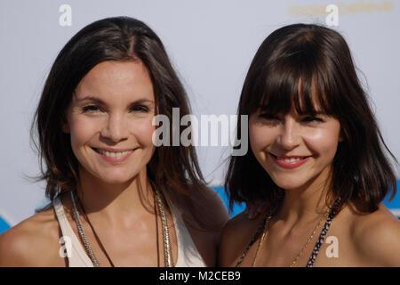 Nadine Warmuth und Susan Hoecke bei der Deutschlandpremiere des Filmes 'Kindskoepfe' in Berlin am 30.07.2010 / Foto: - Stock Photo