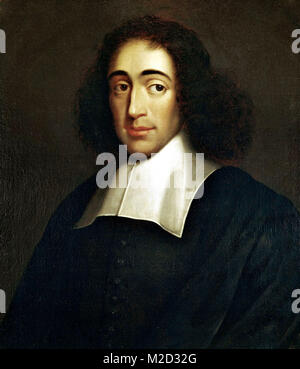 Baruch Spinoza, Benedito de Espinosa, (1632 – 1677) later Benedict de Spinoza was a Dutch philosopher - Stock Photo