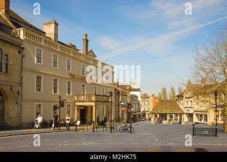 The Angel Hotel in the centre of Chippenham Wiltshire England UK - Stock Photo