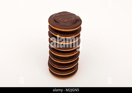 jaffa cakes - Stock Photo