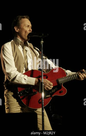 peter kraus live in tempodrom - berlin on 07/06/2008 - Stock Photo