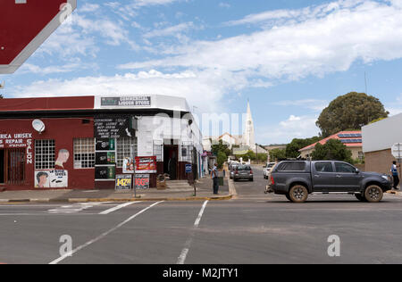 Town centre of Darling in the Western Cape region of South Africa - Stock Photo