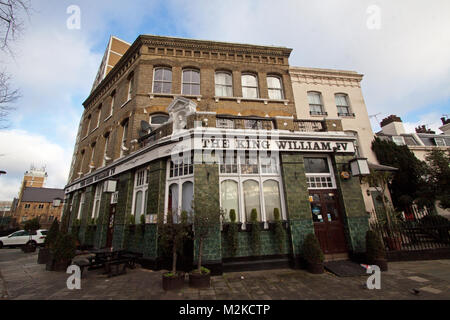 King William Pub With Rooms London