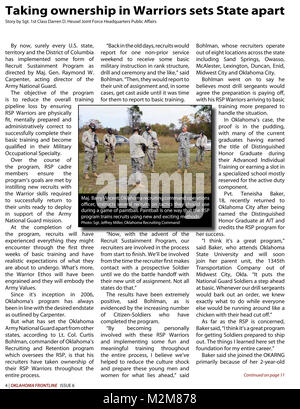 Community Newspaper December 2009 Frontline Page 4 by Oklahoma National Guard - Stock Photo