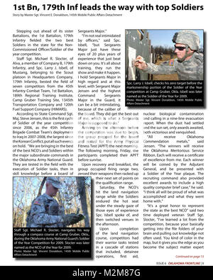 Community Newspaper December 2009 Frontline Page 9 by Oklahoma National Guard - Stock Photo