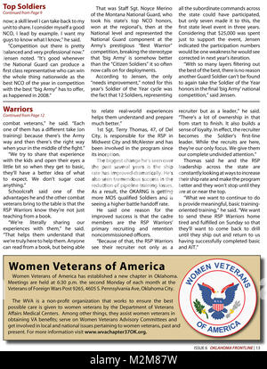 Community Newspaper December 2009 Frontline Page 13 by Oklahoma National Guard - Stock Photo