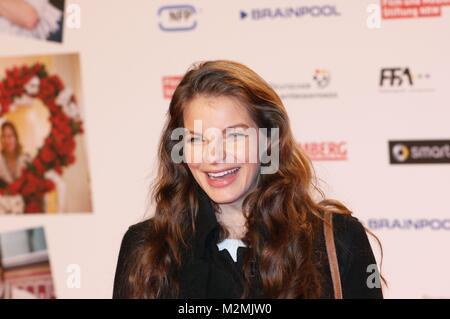 Yvonne Catterfeld am 18.2.2014 bei der Weltpremiere'Stromberg' im Cinedom Köln - Stock Photo