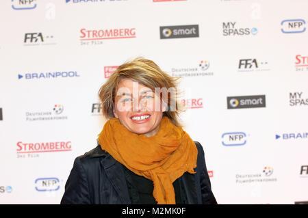 Sabine Heinrich am 18.2.2014 bei der Weltpremiere'Stromberg' im Cinedom Köln - Stock Photo