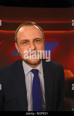 Peter Neumann, der Terorrismus Experte  als Gast in der ARD Talkshow Menschen bei Maischberger am Dienstag 23.11.2015 - Stock Photo