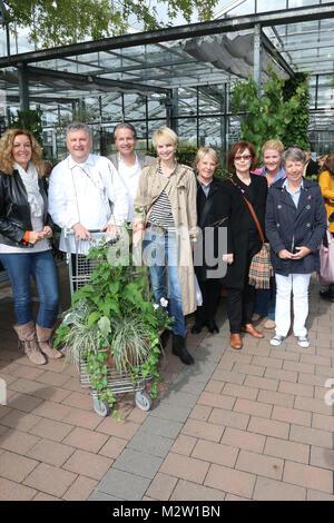 Johannes von Ehren und Heinz O. Wehmann (Landhaus Scherrer), Susann Atwell und Bettina Tietjen, Anke HArnack, Christl - Stock Photo