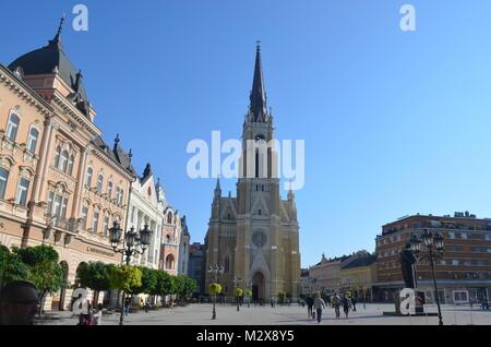 The Name of Mary Church. Novi Sad, Serbia - Stock Photo